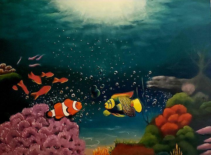 The Under Water World - Kathlene melvin
