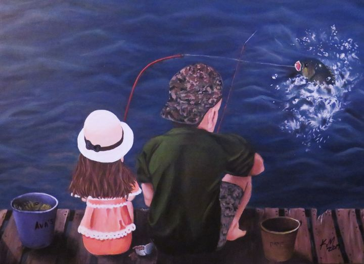 Fishing With Dad - Kathlene melvin