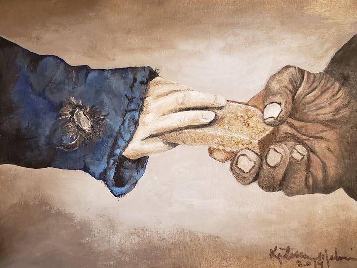 """""""The Sharing of the Bread - Kathlene melvin"""