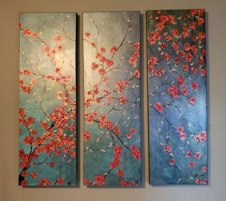 Cherry blossoms - Kathlene melvin