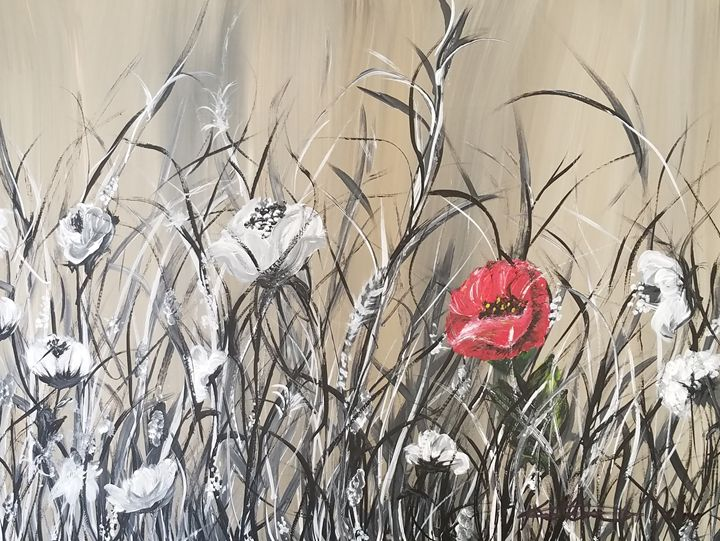 The Red Poppy - Kathlene melvin