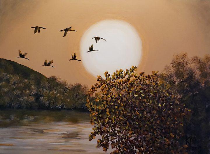 """""""Autumn Days"""" - Kathlene melvin"""