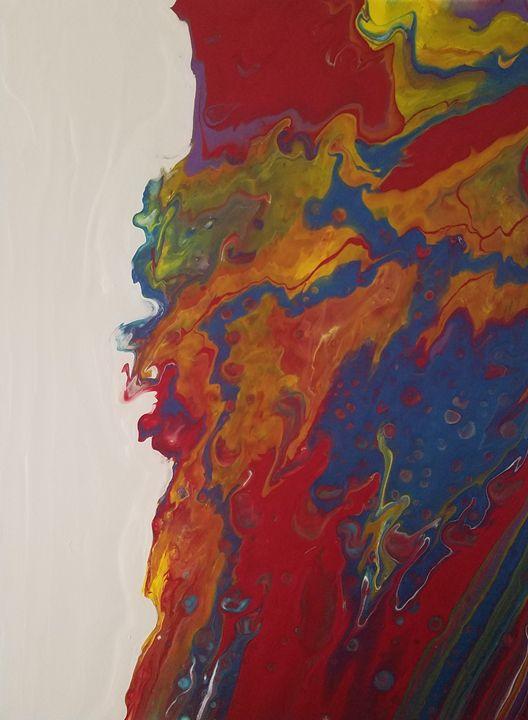 Colored water - Kathlene melvin