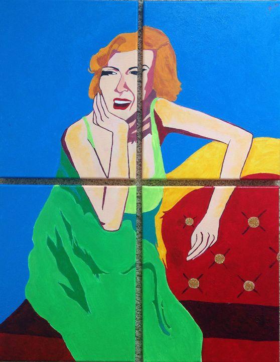 Marilyn Monroe - Kirti Paintings