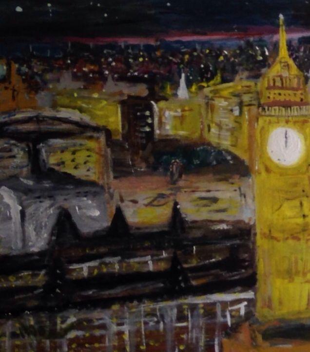 London by night - Erik j Marshall