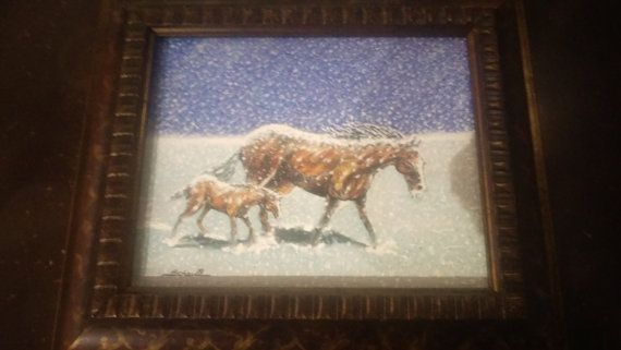 1962 Original Oil Painting signed by - Good Show my Friend