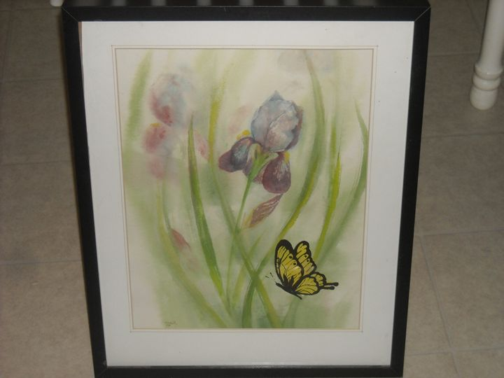Original Watercolor signed - Good Show my Friend