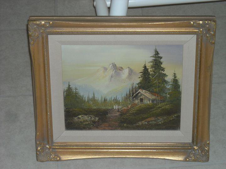 Original 1960's Vintage Landscape - Good Show my Friend