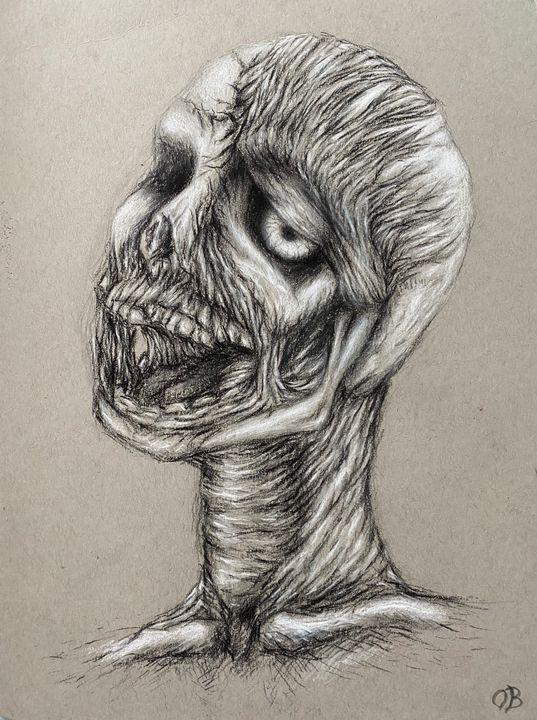 Halloween Zombie Guy - Olivia Bradford