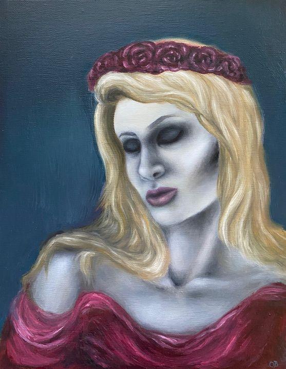 Lady in Pink Frozen in Time - Olivia Bradford