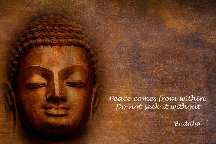 Buddha quote II - PTH ART