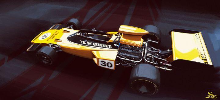 Lotus 72D Cosworth - Pierre Andlauer