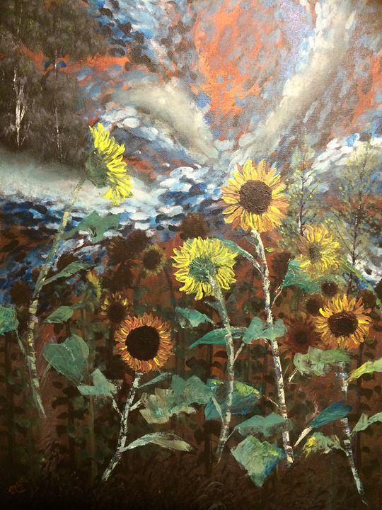 Sunflower Fantasies - Rising Sun Studio