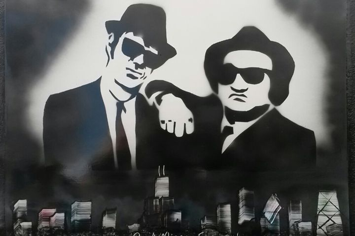 Blues Brothers - Nathan's Spray Monay