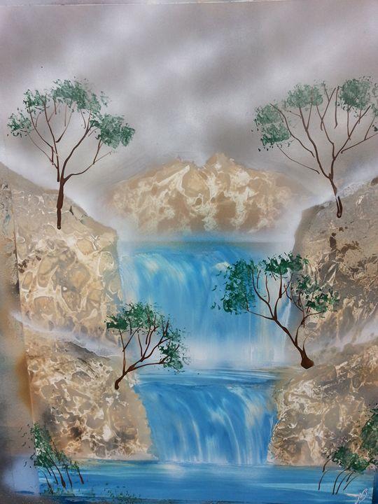 Japanese Waterfall - Nathan's Spray Monay