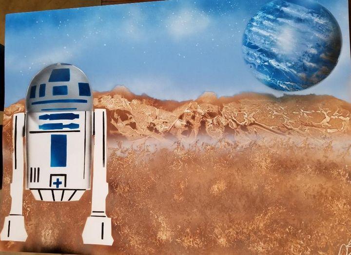 Star Wars - R2D2 - Nathan's Spray Monay