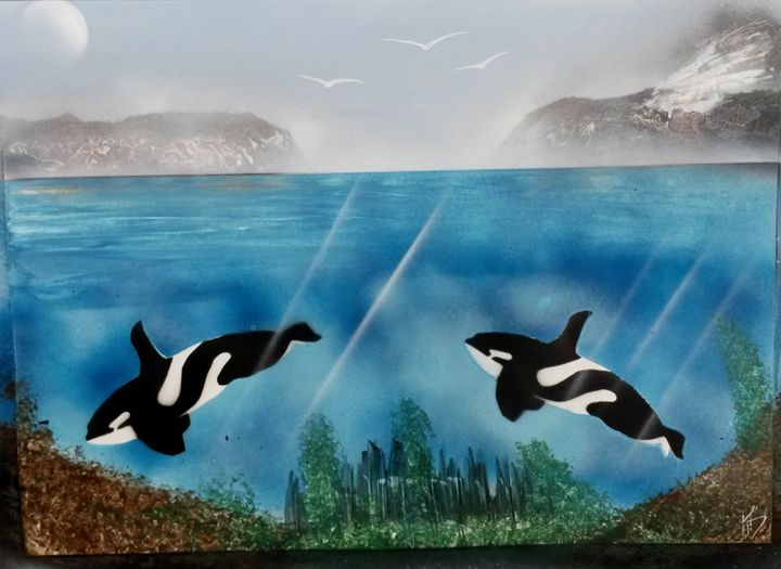 Killer Whales - Nathan's Spray Monay