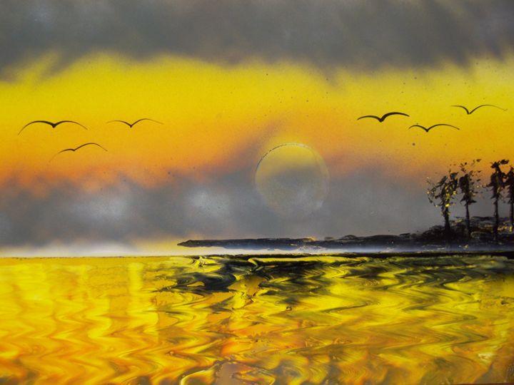 Oregon Sunset - Nathan's Spray Monay