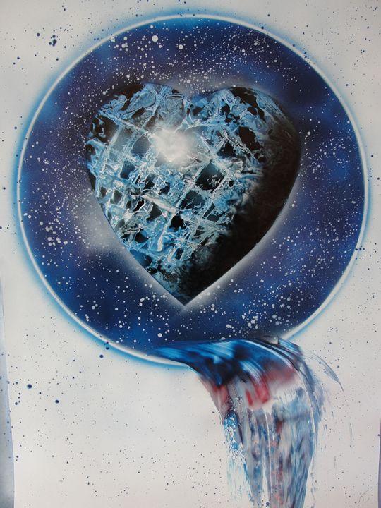 Sky Window - Blue Heart - Nathan's Spray Monay