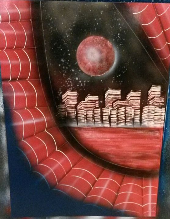 Spidey Eye - Nathan's Spray Monay