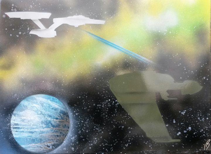 Star Trek Klingon Bird of Prey - Nathan's Spray Monay