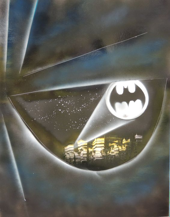 Batman Eye - Nathan's Spray Monay