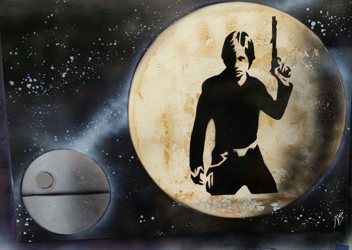 Star Wars - Luke Skywalker - Nathan's Spray Monay