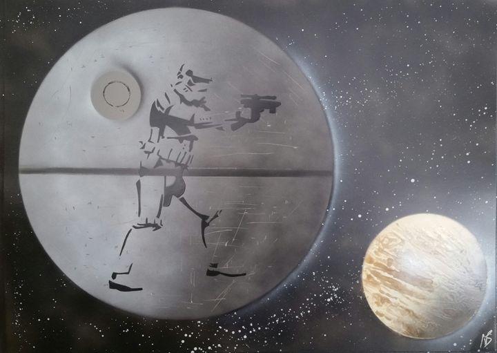 Star Wars - Stormtrooper - Nathan's Spray Monay