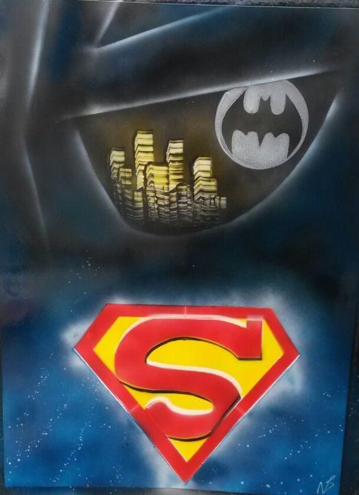 Batman vs Superman - Nathan's Spray Monay
