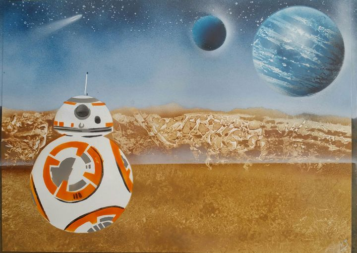 Star Wars - BB8 - Nathan's Spray Monay