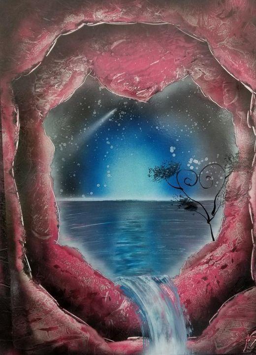 Heart Cave - Nathan's Spray Monay
