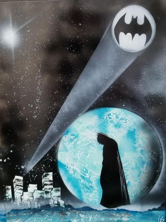Batman Waiting - Nathan's Spray Monay