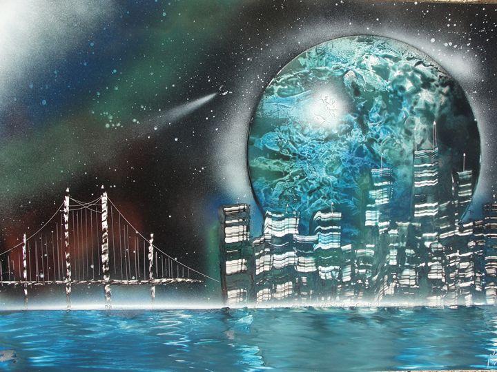 Big City Nights - Nathan's Spray Monay