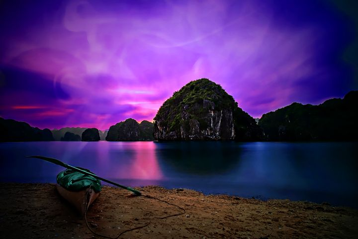 Colorful Island - D. van Doorn