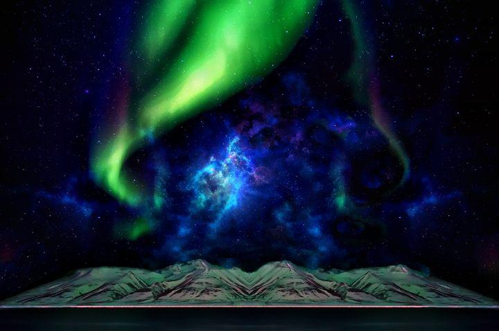 Galactic Lights - D. van Doorn