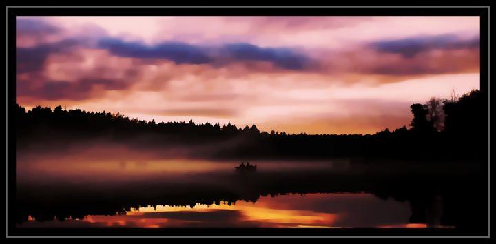Early Morning Boat - D. van Doorn
