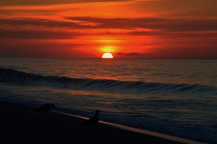 Sunset Beach - D. van Doorn