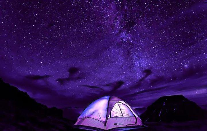 Camping Under the Stars - D. van Doorn