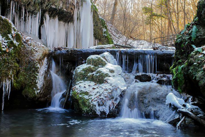 Ice Falls - D. van Doorn