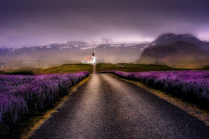 Iceland Church - D. van Doorn