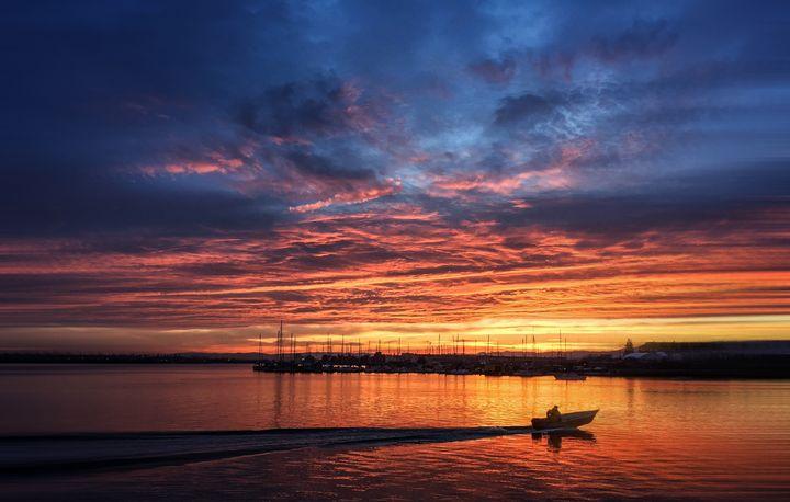 Morning Boat - D. van Doorn