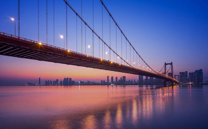 Morning Bridge - D. van Doorn