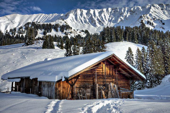 Mountain Cabin - D. van Doorn