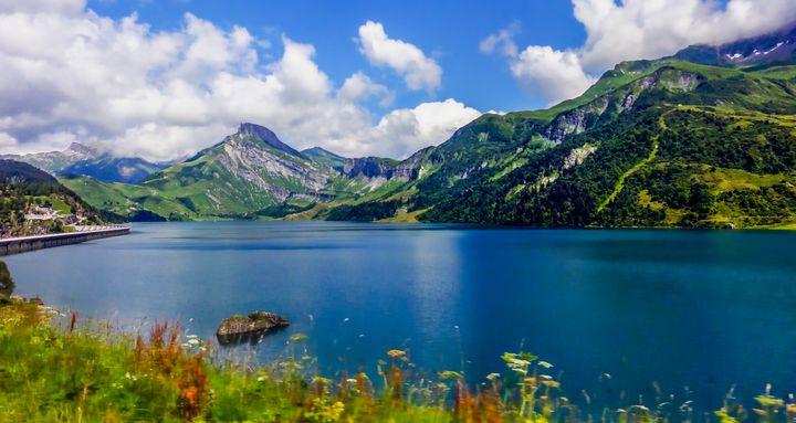 Mountain Lake 1 - D. van Doorn