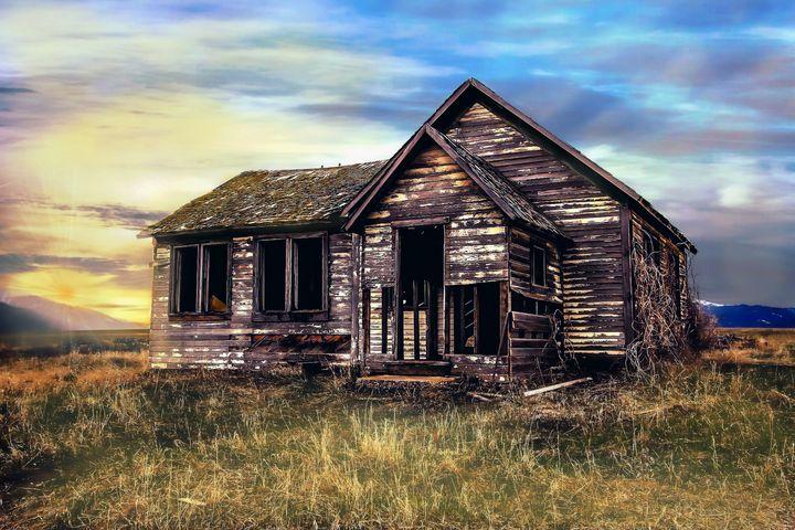 Old Farm House - D. van Doorn