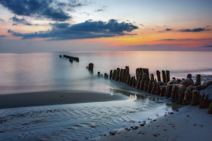 Sunset Seascape - D. van Doorn