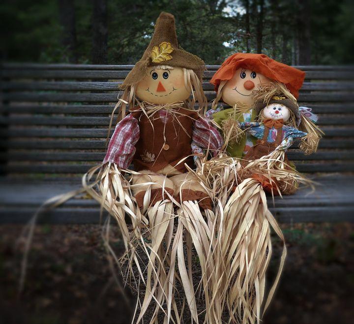 Scarecrow Family - D. van Doorn