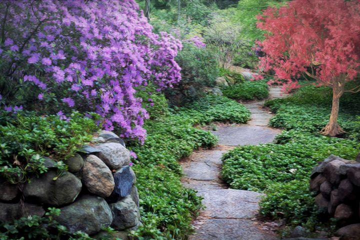 Spring Garden - D. van Doorn