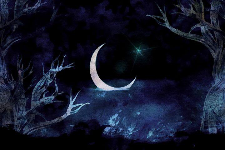 Moon Scene - D. van Doorn