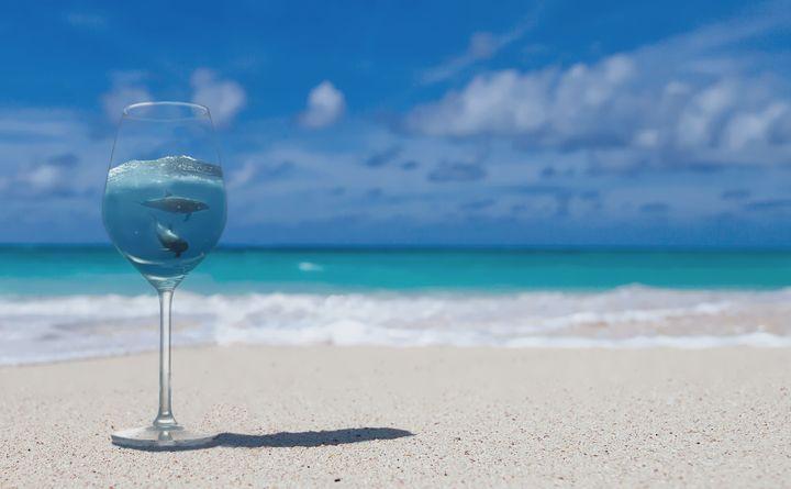 Wine Glass - D. van Doorn